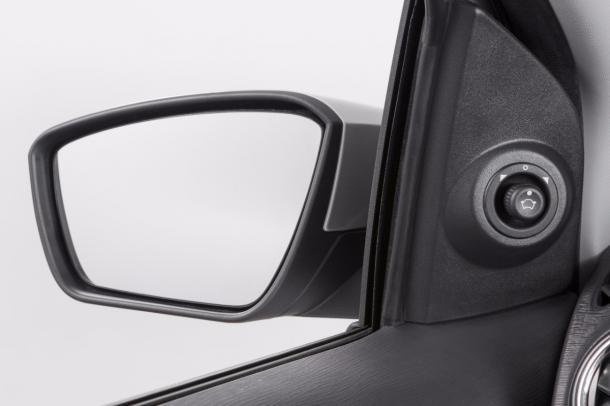 Jogo para automatização elétrica do espelho retrovisor externo - Ka