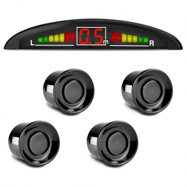 Sensor de estacionamento/ré com display