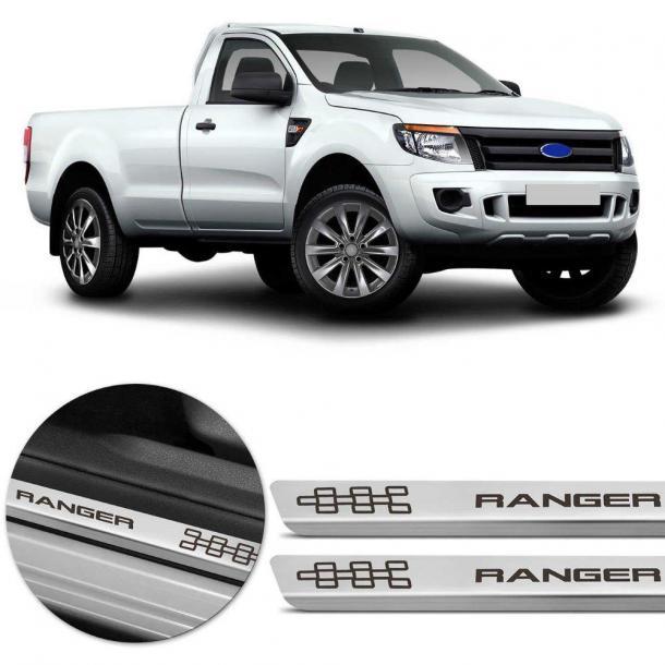 Soleira de Inox  - Lado do motorista - Ranger