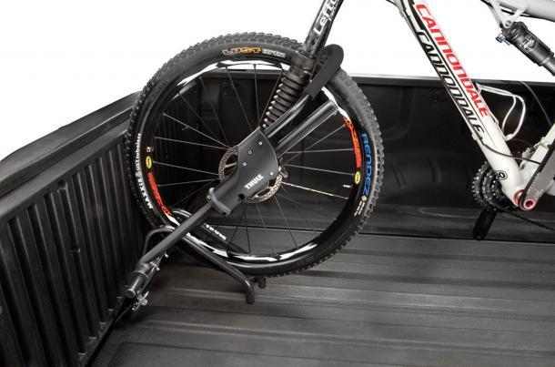 Suporte para bicicleta na caçamba