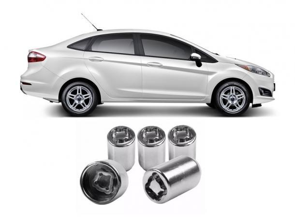 Dispositivo Anti-furto para Estepe - New Fiesta Sedan