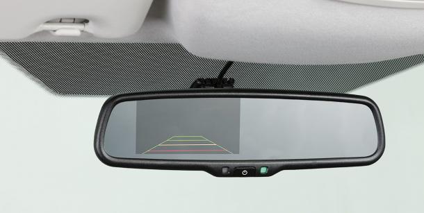 Espelho Retrovisor Interno com Câmera de Ré