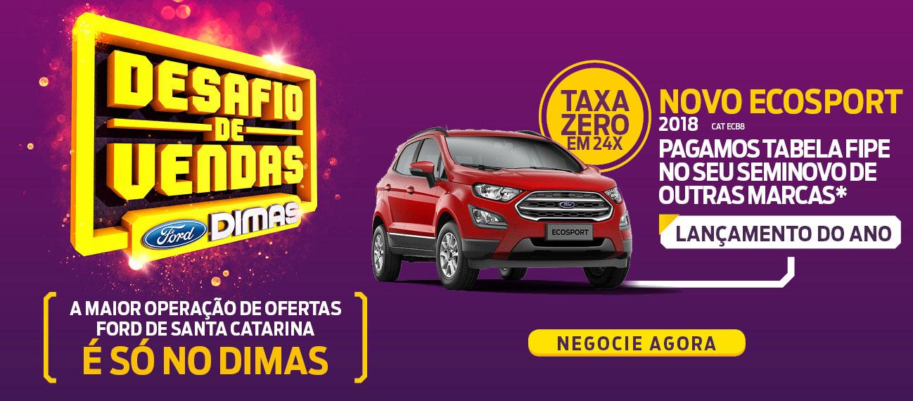 Ford Dimas | Novo Ecosport