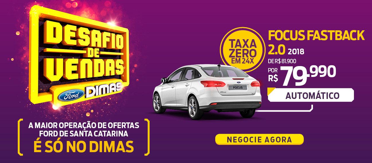 Ford Dimas | Novo Focus Fastback