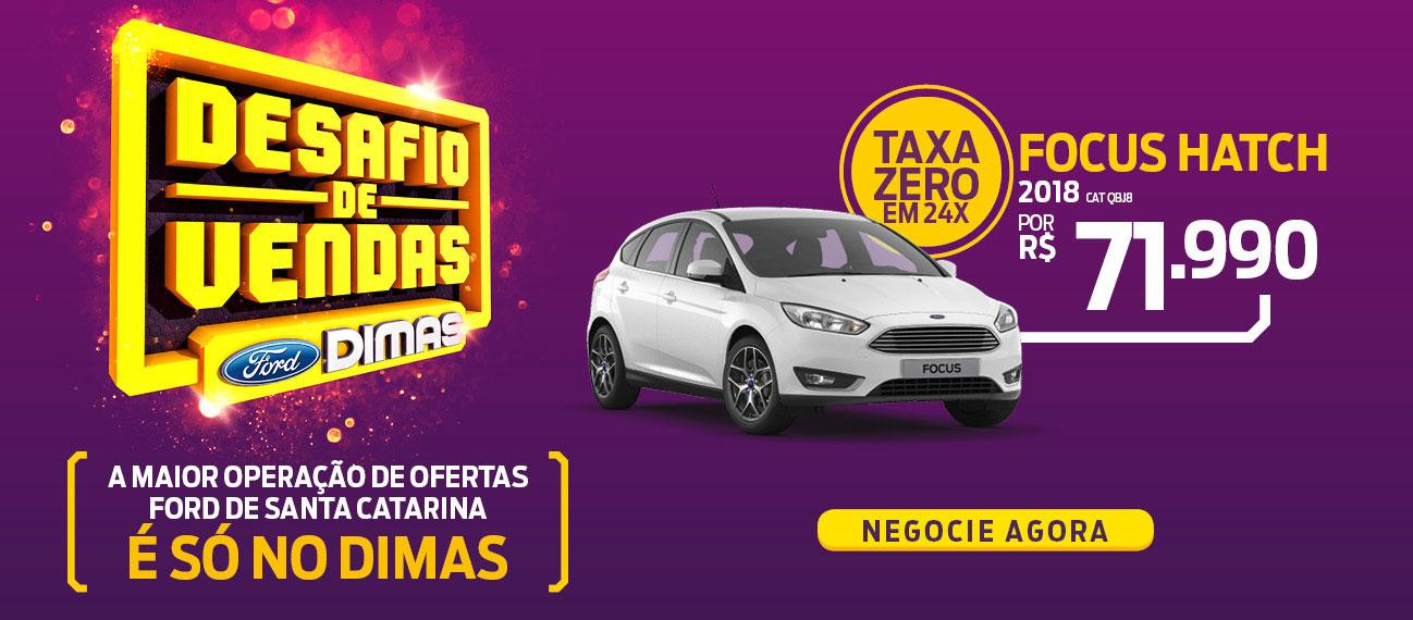 Ford Dimas | Novo Focus Hatch
