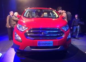 Ford mostra EcoSport 'brasileiro' às vésperas do Salão de Buenos Aires