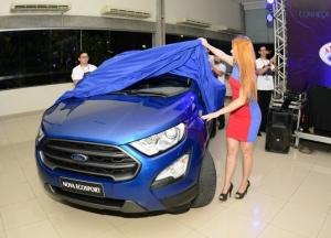 Concessionária Ford América apresenta novo modelo do utilitário Ecosport, em Manaus