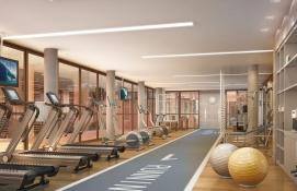 Fitness com espaço pilates