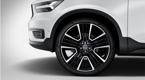 Conjunto de rodas e pneus  - BLACK DIAMOND ARO 21
