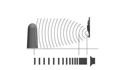 Sensores de estacionamento dianteiro