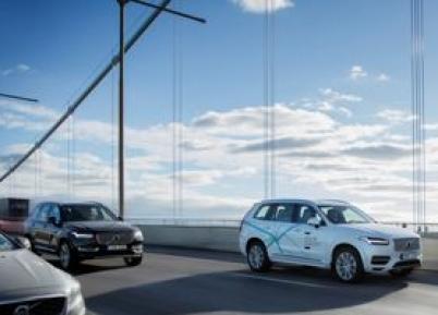Volvo avança em parcerias pelo carro autônomo