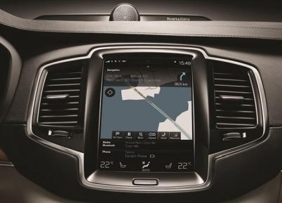 Volvo ganha sistema de navegação com atualização automática da Here Technologies